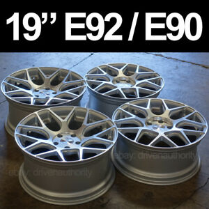 19 Avant Garde M590 Wheel Set Bmw E90 E92 325i 328i 330i 335i M Rims 3 Series