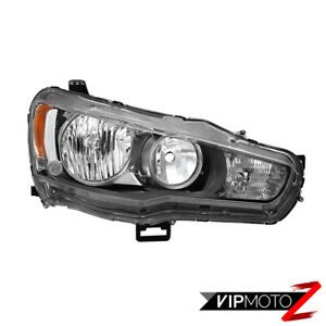 For 08 17 Mitsubishi Lancer Es Ralliart Factory Style Passenger Side Headlight