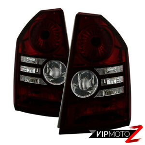 Rosso Red Smoke 2008 2010 Chrysler 300c Srt8 Factory Style Tail Lights Lamps