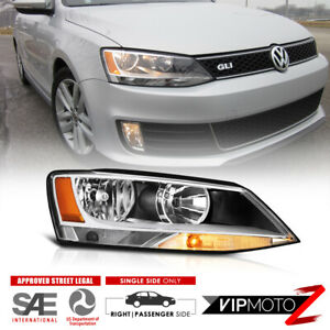 Right Passenger Side For 11 18 Jetta Sedan Factory Style Headlight Replacement