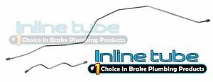1999 2005 Ford F250 F350 Sd Excursion Rear Axle Housing Brake Lines Tubes 2p Oe