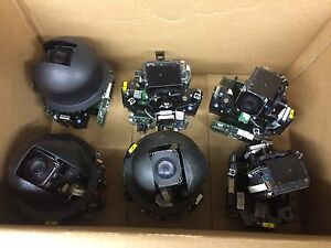 Lot Of 6 Untested Ultrak Kdsa00n1 Ptz Pan Tilt Zoom Security Camera As is