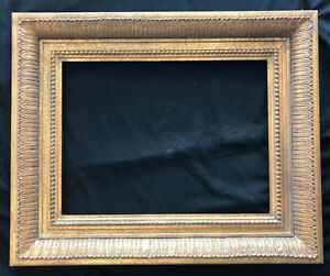 12 X 16 Picture Frame With Hand Laid Composition Ornaments Made In Usa Eb62