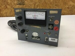 Ramapo Instrument Target Meter Linearizer Corded Electrical Military