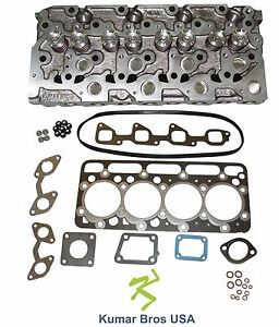 New Kumarbros Usa Bobcat 331 Kubota V2203 complete Cyl Head Upper Gasket Set