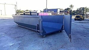 20 Yd Roll Off Containers dumpsters Reinforced Gates Anticorrosive Protection