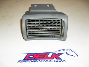 1994 2004 Ford Mustang Grey Gray Dash Ac Vent Lh Drivers Side