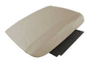 Center Console Armrest Leather Synthetic Cover For Cadillac Escalade 02 06 Beige