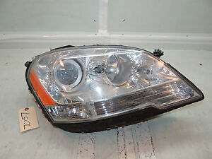 09 10 11 Mercedes Ml Class Headlight Halogen Right Side Rh