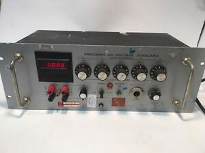 Electronic Developement Corporation Precision Dc Voltage Standard Mv 100n