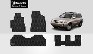 Toughpro Custom Fit Floor Mats And 3rd Row Mats For 2004 2007 Toyota Highlander