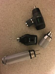 Welch Allyn Diagnostic Set With Otoscope Opthalmoscope Lithium Rechargeable