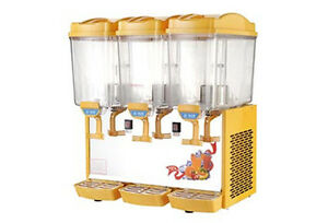 Commercial Cold Drink Machine 3 17l Hot And Cold Juice Dispenser