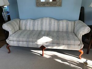 Victorian Loveseat Chair Set Sofa French Settee In Ivory