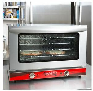 Commercial Countertop Half Sheet Size Convection Oven 1 5 Cu Ft 120v 1600w