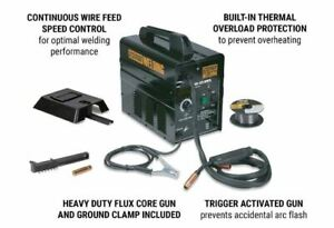 New 90 Amp ac 120 Volt Flux Cored Arc Style Repair Welder no Gas Needed