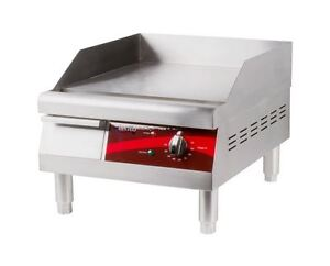 16 Commercial Kitchen Restaurant Electric Counter Flat Top Grill Food Griddle