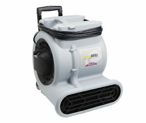 Commercial Carpet Floor Fan Blower Dryer 3 speed Air Mover 25 Ft Cord 2200 Cfm