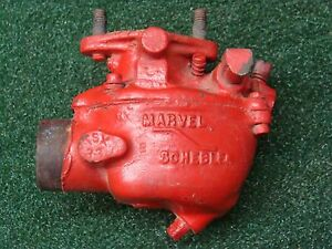 Vintage Tractor Carburetor Marvel Schebler Tsx 33 For Ford Or M f