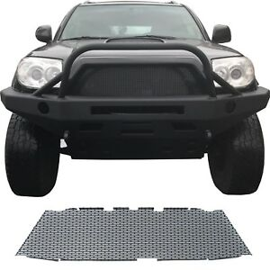 Ccg Flat Black Precut Mesh Grill Insert For A 2006 09 Toyota 4runner Grille New