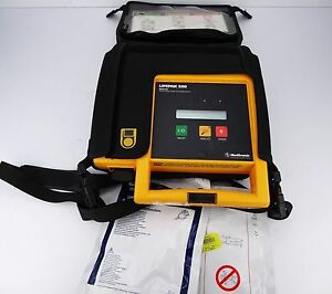 Physio control Lifepak 500 Biphasic Ecg Very Good Condition Emt Medic Eg
