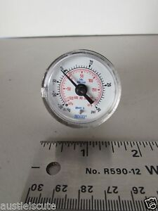 Wika 316l Stainless Steel Pressure Gauge 30 30psi Vcr Metal Gasket Fitting