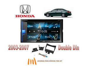 New 2003 2007 Honda Accord Blue Tooth Touchscreen Car Stereo Combo Kit Dvd