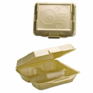 Genpak Takeout Foam Clamshell Food Containers Gnp2031013