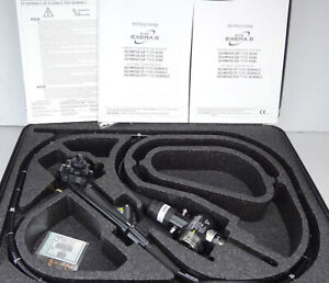 Olympus Evis Exera Colonoscope Pcf 160al Video Endoscope With Case