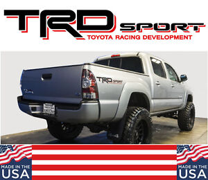 Toyota Trd Truck Sport 4x4 Toyota Tacoma Die Cut Decal Vinyl Stickers N3