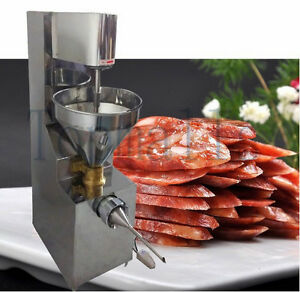 Electric Commercial Automatic Pressure Sausage Stuffer Stainless Steel 220v 110v