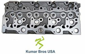 New Kumar Bros Usa Cylinder Head For Bobcat 331 kubota V2203