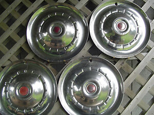 1953 53 Chrysler Windsor Sarstoga Hubcaps Wheel Covers Antique Vintage Classic