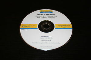 New Holland Discbine 313 316 Disc Mower conditioner Service Repair Manual