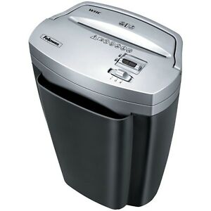 Cross cut Paper And Credit Card Shredder Fellowes Powershred W11c 11 sheet