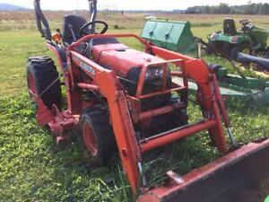 2007 Kubota B7510 Tractor Loaders