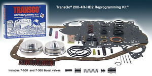 Transgo Shift Kit Th 200 4r Chevy Gmc Buick 1981 On 200 4r Hd 2