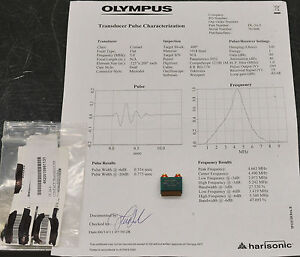 Olympus Harisonic 5mhz Ultrasonic Contact Transducer Dl 24 5 4920 01 599 1131