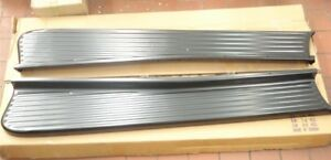 1947 1948 1949 1950 1951 1952 53 54 Chevy Pickup Truck Black Running Boards Pair