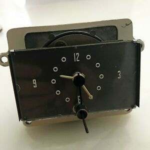 Motocron Automotive Clock Model D 608 G1 12 Volt