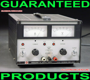 Kikusui Pac 110 1 0 110v 0 1a Metered Variable Regulated Dc Bench Power Supply
