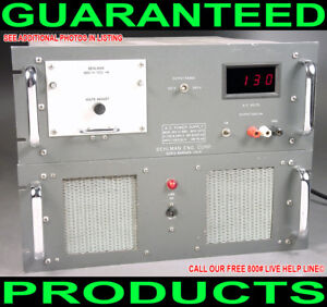 Us Behlman 150 c sbd 1500w 400hz Variable Digital Metered Ac Power Supply Source