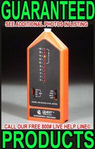 Quest 208 Digital Precision Osha Sound Music Pressure Level Spl Meter Calibrated