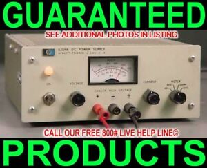 Hp Agilent 6209b 0 320v 0 0 1a Regulated Variable Metered Bench Dc Power Supply