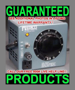 Us Staco 3pn501 5 amp 700w Variable Ac Transformer Powerstat Variac Power Source