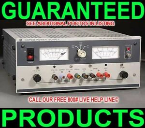 Kepco Mps620m Triple 3 Output Variable Dc Power Supply