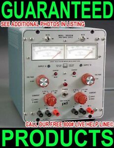 Power Designs Tw5005w 0 50v Dual Output Variable Linear Metered Dc Power Supply
