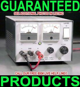 Lambda La 300 0 16 5v 0 7a Variable Regulated Dual Metered Bench Dc Power Supply