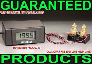 New 0 199 9 Amp Digital Dc Current Ammeter Lcd Charge Power Monitor Meter Shunt