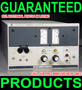 Kepco Usa 0 55v 0 5a Variable Regulated Dual Metered Bench Dc Lab Power Su